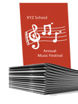concert program books